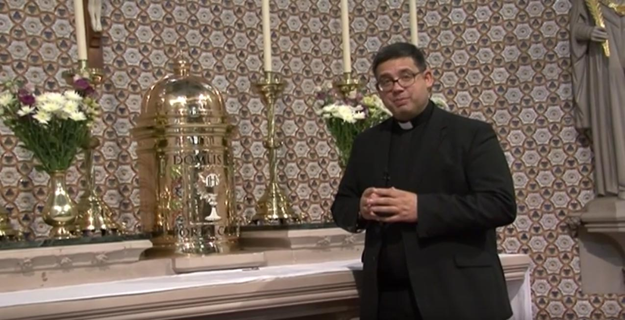 Prayers before the Blessed Sacrament